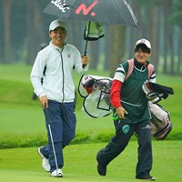 こちらもローアマ争いに加わって来ました! 2020年 日本オープンゴルフ選手権競技 3日目 清水大成