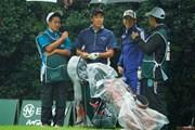 2020年 日本オープンゴルフ選手権競技 3日目 杉原大河 桂川有人