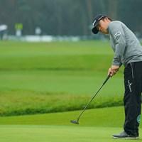 イーブンパーのナイスラウンドで8位タイに。 2020年 日本オープンゴルフ選手権競技 3日目 今野大喜