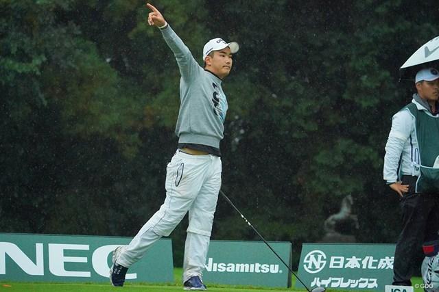 2020年 日本オープンゴルフ選手権競技 3日目 河本力 最終18番でもティショットは曲がりショットに頭を抱えた