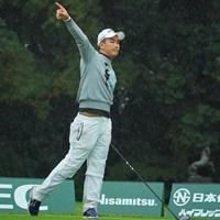 最終18番でもティショットは曲がりショットに頭を抱えた 2020年 日本オープンゴルフ選手権競技 3日目 河本力