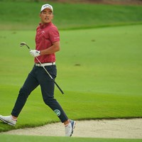 7番はバンカーに捕まるも、ナイスバーディでしたね。 2020年 日本オープンゴルフ選手権競技 4日目 河本力