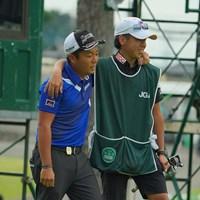 ホールアウト、一気に疲れが出ちゃった。 2020年 日本オープンゴルフ選手権競技 4日目 稲森佑貴