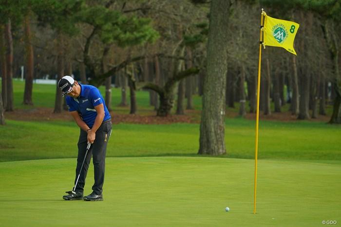 8番はナイスパーセービング! 2020年 日本オープンゴルフ選手権競技 4日目 稲森佑貴