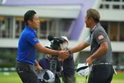 2020年 日本オープンゴルフ選手権競技 4日目 稲森佑貴 谷原秀人