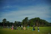 2020年 日本オープンゴルフ選手権競技 4日目 練習場