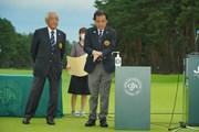 2020年 日本オープンゴルフ選手権競技 4日目 表彰式