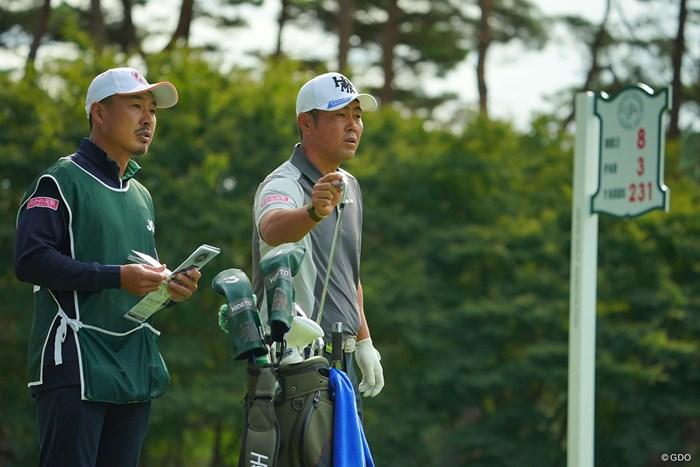 またこのコンビでリベンジしてほしい。 2020年 日本オープンゴルフ選手権競技 4日目 谷原秀人