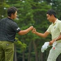 最終日もナイスプレーでしたね。ローアマおめでとう! 2020年 日本オープンゴルフ選手権競技 4日目 杉原大河