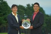 2020年 日本オープンゴルフ選手権競技 4日目 杉原大河 河本力