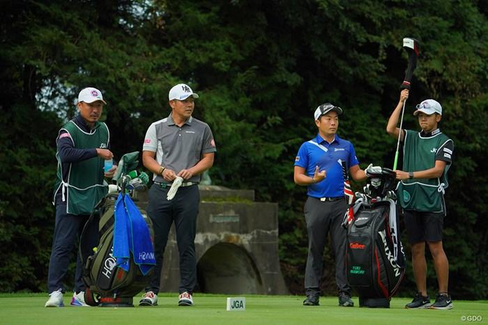 優勝争いは最終組の2人で。 2020年 日本オープンゴルフ選手権競技 4日目 最終組