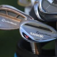 ジョン・ラームのウェッジにはニックネームの「ランボー」の刻印(協力/GolfWRX、PGATOUR.COM) 2021年 ザ・CJカップ@シャドークリーク 最終日 ジョン・ラームのクラブ