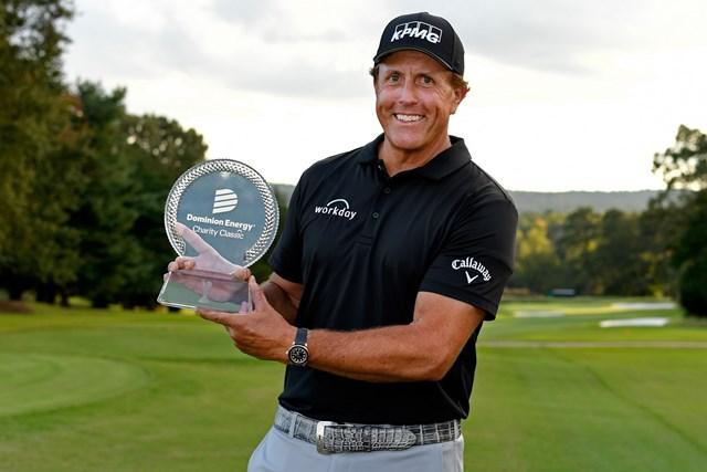 シニアじゃ敵なし? ミケルソンはチャンピオンズ2戦目も優勝(Tracy Wilcox/PGA TOUR)