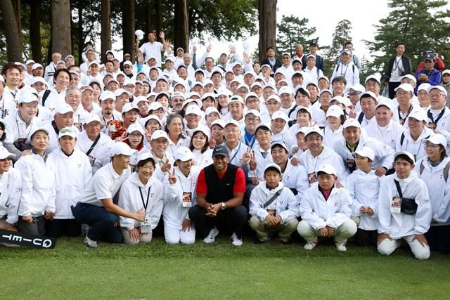 2020年 ZOZOチャンピオンシップ 最終日 タイガー・ウッズ 第1回大会優勝のタイガー・ウッズ(Getty-Images-PGATOUR)