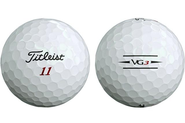 2020年 タイトリスト「VG3 ボール」 サイドスタンプのデザインが変わり、アライメント機能が強化された