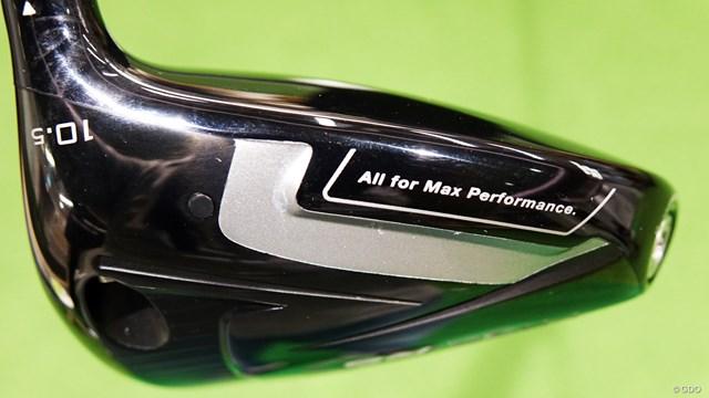 RS5 ドライバーを筒康博が試打「前作とは違いすぎ」 ヘッド後方が少し出ているもののクセのない形状