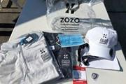 2021年 ZOZOチャンピオンシップ 2日目 ボランティア用グッズ