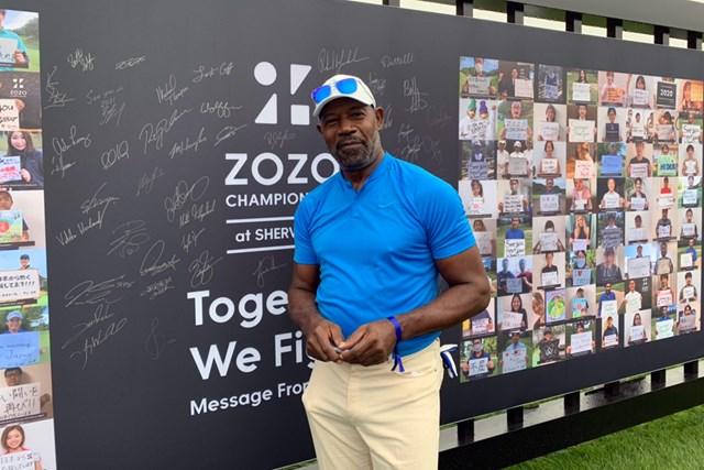 2021年 ZOZOチャンピオンシップ@シャーウッド 3日目 デニス・ヘイスバート プロアマに参加した俳優のデニス・ヘイスバート。『24』の大統領役を務めた(提供:ZOZOチャンピオンシップ)