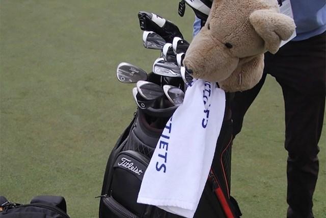 2020年 PGAツアーオリジナル パトリック・カントレー カントレーの優勝バック(提供:GolfWRX、PGATOUR)