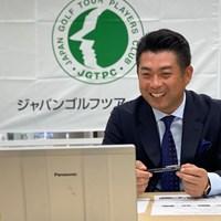 オンラインでの会見に出席した池田勇太(提供:JGTO) 2020年 池田勇太