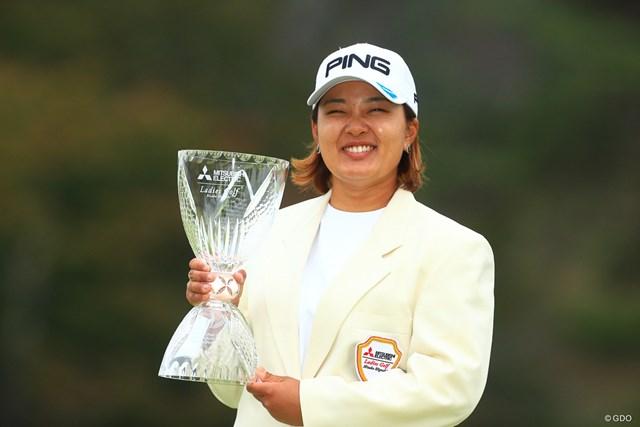 2019年 樋口久子 三菱電機レディスゴルフトーナメント 最終日 鈴木愛 前年大会は鈴木愛が制し、同大会から3連勝した