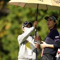 なんとキャディーは大江プロ 2020年 樋口久子 三菱電機レディスゴルフトーナメント 事前 金田久美子