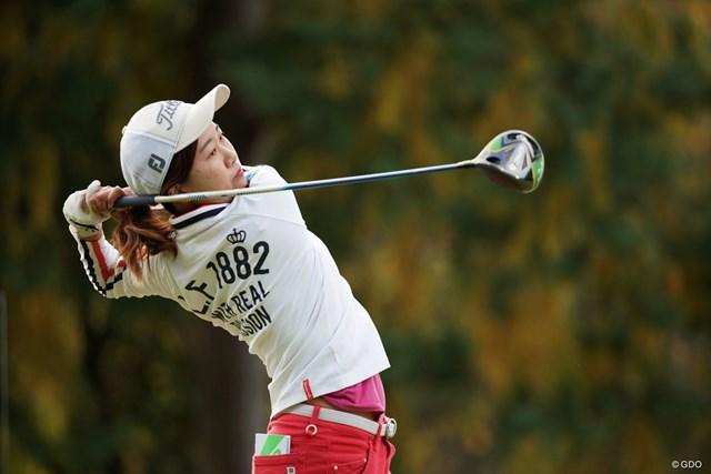 2020年 樋口久子 三菱電機レディスゴルフトーナメント  初日 新田彩乃 現地ウェイティングで最後に出場権を得た新田彩乃