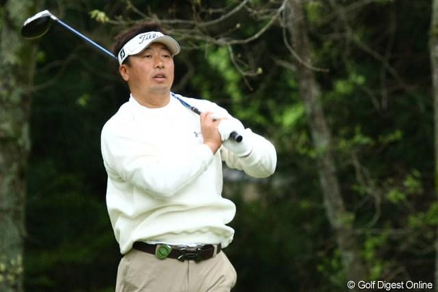 2010年 つるやオープン 2日目 丸山大輔 丸山大輔が首位スタート! 先週の悔しさを晴らせるか!?