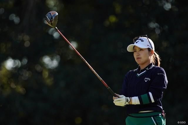 2020年 樋口久子 三菱電機レディスゴルフトーナメント 2日目 西村優菜 目標は決まったかい