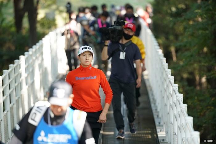 笑顔が消えた 2020年 樋口久子 三菱電機レディスゴルフトーナメント 2日目 渋野日向子