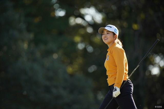 2020年 樋口久子 三菱電機レディスゴルフトーナメント 2日目 山下美夢有 ニッコニコ、4アンダー3位タイ