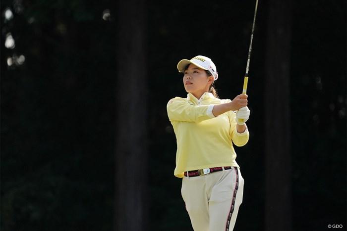 6打差を逆転されて今季初優勝を逃した勝みなみ 2020年 樋口久子 三菱電機レディスゴルフトーナメント 最終日
