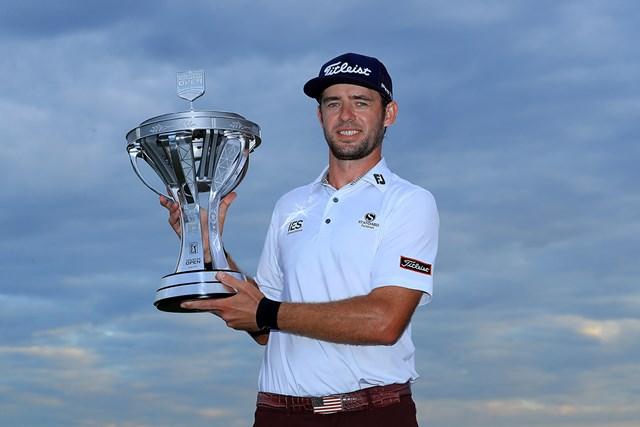 2020年 ヒューストンオープン 最終日 ラント・グリフィン 前年大会はラント・グリフィンがプロ10年目で初優勝を挙げた(Sam Greenwood/Getty Images)