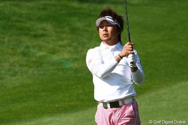 「この日のゴルフには納得がいかない!」という小泉洋人。それでも初の予選突破を果たした