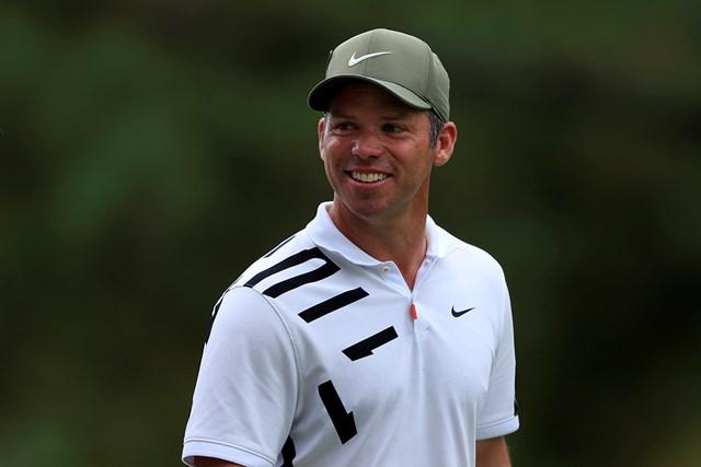 2021年 マスターズ 初日 ポール・ケーシー 「65」をマークしたポール・ケーシーが暫定首位で発進(提供:Augusta National Golf Club)