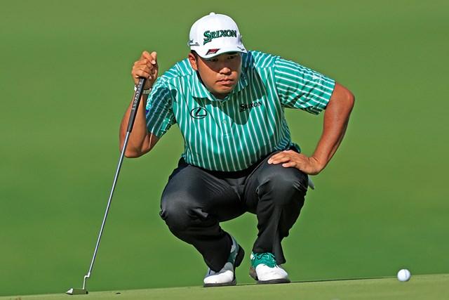 2021年 マスターズ 初日 松山英樹 松山英樹はマスターズ予選自己ベストの「68」をマークしたが、自己評価は手厳しい(提供:Augusta National Golf Club)