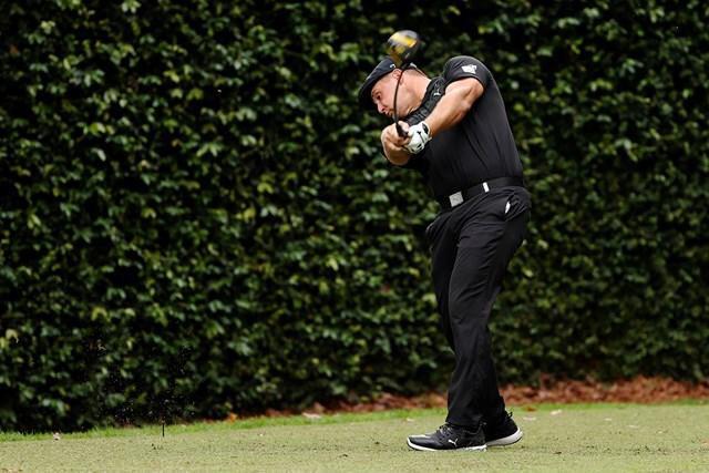2021年 マスターズ 初日 ブライソン・デシャンボー デシャンボーは「70」で発進した(提供:Augusta National Golf Club)