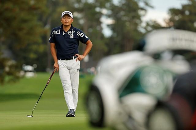 2021年 マスターズ 初日 今平周吾 今平周吾は5ホール残し1オーバー(提供:August National Golf Club)
