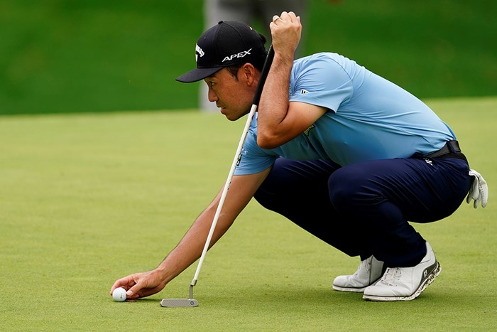 すべてのホールでパーオンしながら39パット…ケビン・ナの心中やいかに(提供:Augusta National Golf Club) 2021年 マスターズ 初日 ケビン・ナ