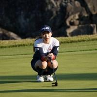 パッとラインを見る 2020年 伊藤園レディスゴルフトーナメント 初日 大出瑞月