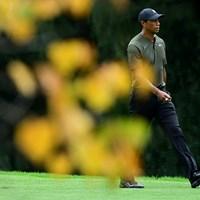 タイガー・ウッズ(提供:Augusta National Golf Club) 2021年 マスターズ 初日 タイガー・ウッズ