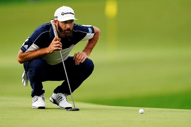 2021年 マスターズ 初日 ダスティン・ジョンソン ダスティン・ジョンソンら7アンダーの3人が首位で発進した(提供:Augusta National Golf Club)