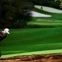 ダスティン・ジョンソンが世界ランキング1位の実力を誇示する展開(提供:Augusta National Golf Club) 2021年 マスターズ 2日目 ダスティン・ジョンソン