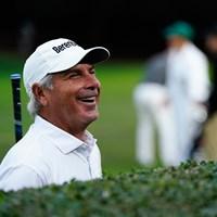 この笑顔が最高!(提供:Augusta National Golf Club) 2021年 マスターズ 2日目 フレッド・カプルス