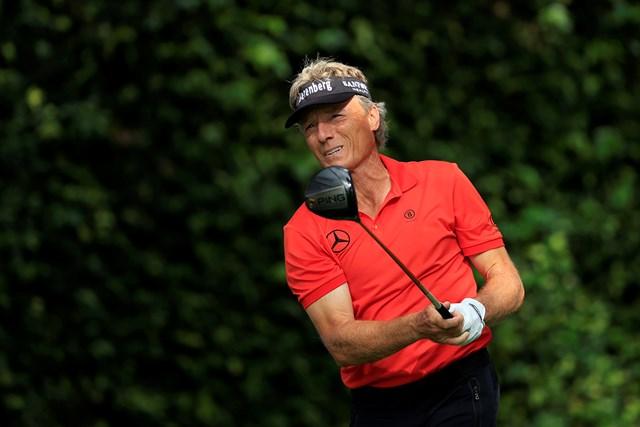2021年 マスターズ 2日目 ベルンハルト・ランガー ベルンハルト・ランガーが最年長予選通過記録を更新した(提供:Augusta National Golf Club)