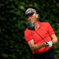 ベルンハルト・ランガーが最年長予選通過記録を更新した(提供:Augusta National Golf Club) 2021年 マスターズ 2日目 ベルンハルト・ランガー