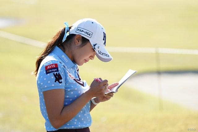 2020年 伊藤園レディスゴルフトーナメント 2日目 イ・ボミ イ・ボミは3年ぶりの優勝を目指す