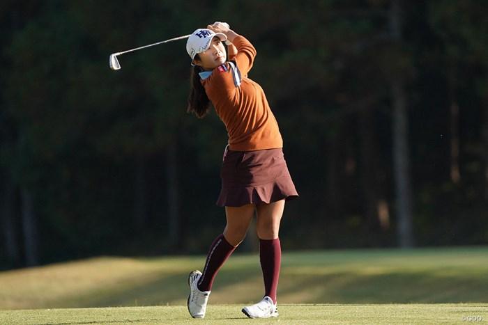ティショットを放つイ・ボミ 2020年 伊藤園レディスゴルフトーナメント 2日目 イ・ボミ