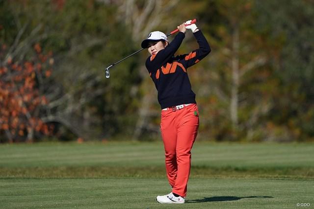 2020年 伊藤園レディスゴルフトーナメント  2日目 古江彩佳 古江彩佳が盤石なゴルフで優勝争いに加わった