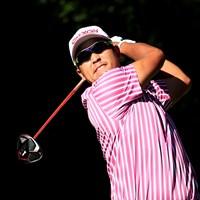 松山英樹※撮影は大会2日目(提供:Augusta National Golf Cklub) 2021年 マスターズ 2日目 松山英樹